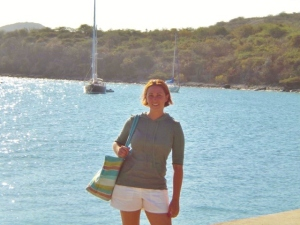 Leaving Culebra, a tiny Island off of Puerto Rico