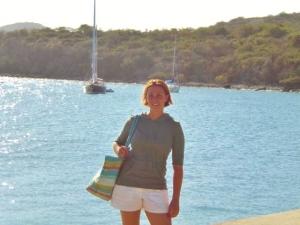 Leaving Culebra, a tiny Island off of Puerto Rico